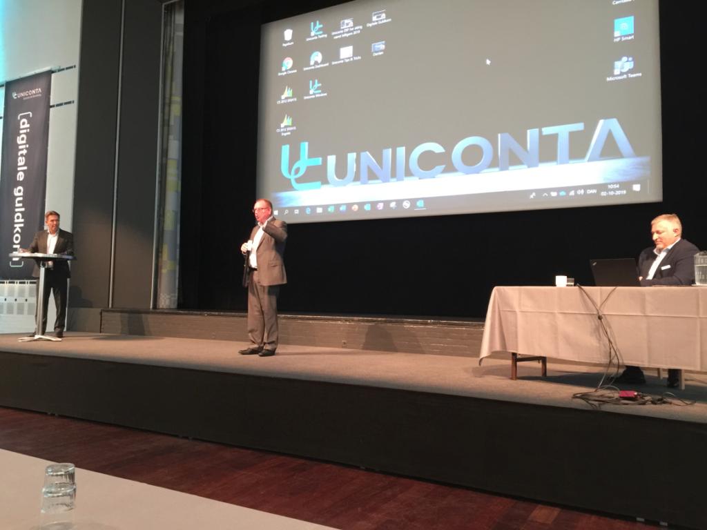 Digitale guldkorn 2019, Erik Damgaard, Uniconta