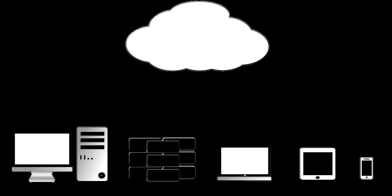 cloud, lagerplads, tilgængelighed